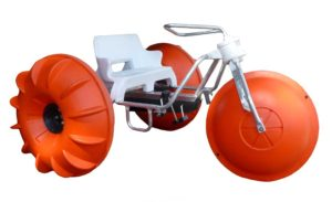 Aqua-Cycle Water Trike built by Aquatic Adventures International, Inc