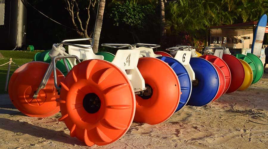 Aqua cycle water trikes have a warranty