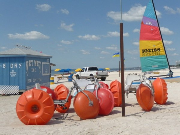 Aqua-Cycle™ Water Trike beach rental business.
