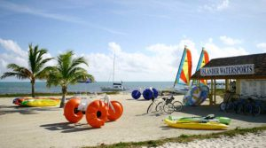 Islander Water Sports water recreation equipment rental location with Aqua-Cycles!
