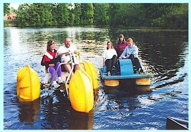 River Bend Campground Water Tricycle with Pedal Boat