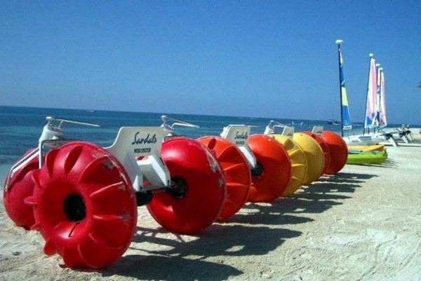Sandal's Beach Resort Aqua-Cycle water toy big Wheels