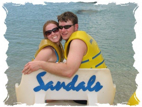 Sandal's Beach Resort Aqua-Cycle Love