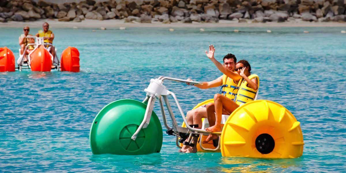 Aqua-Cycle Water Trikes resort