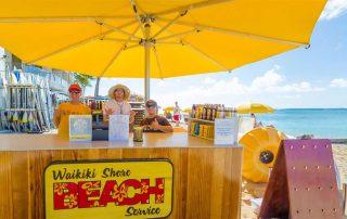 Beach Rental Success with Waikiki Shore Beach Services