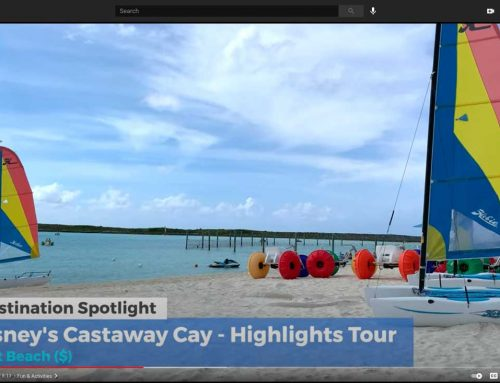 Castaway Cay Ad featuring Aqua-Cycle Water Trikes!